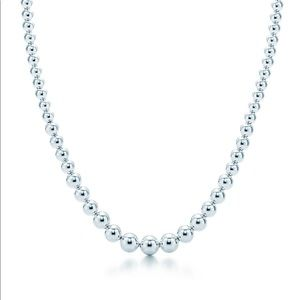 Authentic Tiffany & Co Graduated Ball Necklace